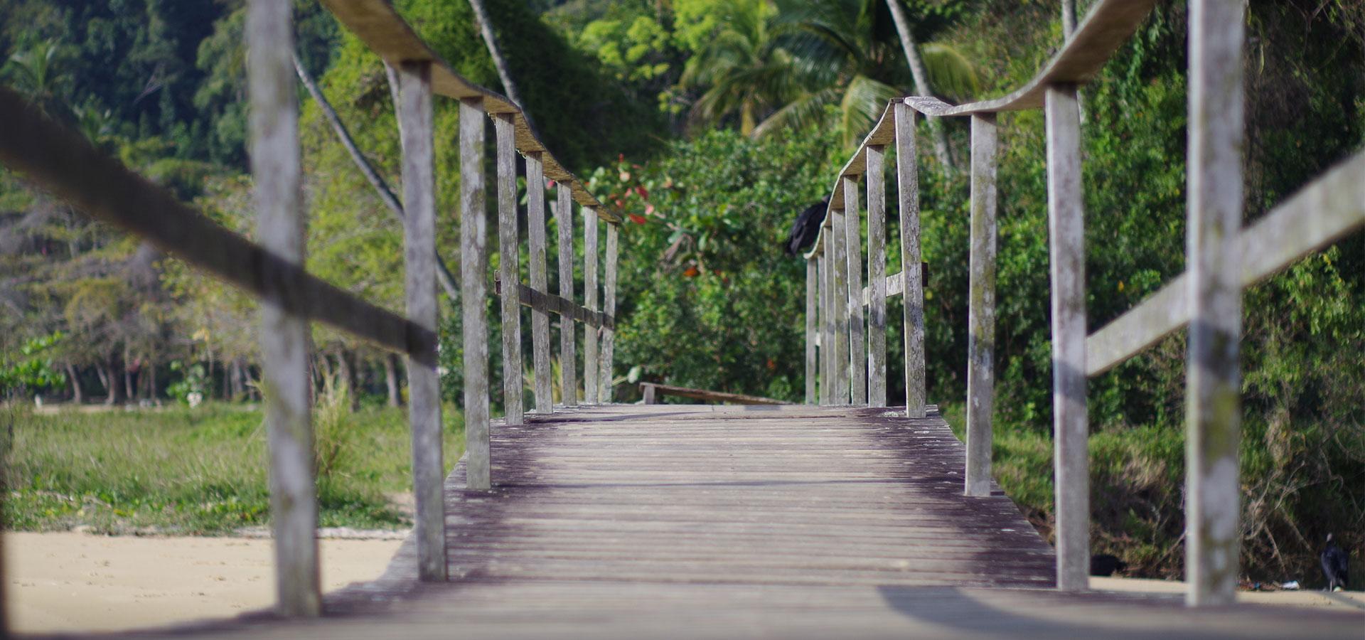 Ilha Grunde Strand Südamerika