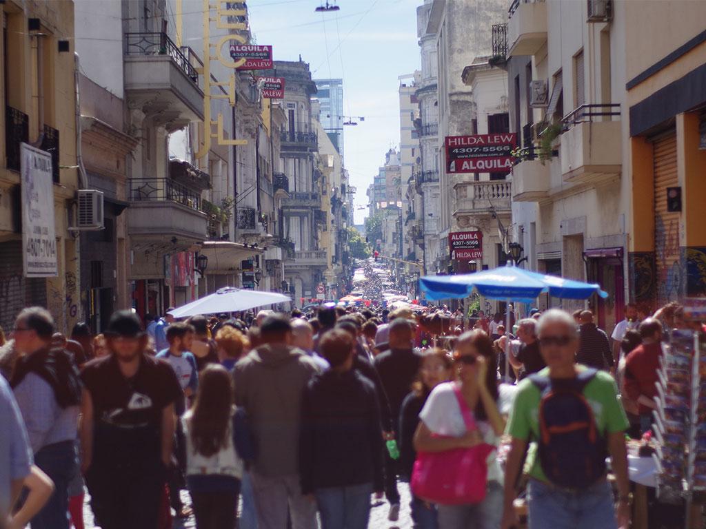 San Telmo Markt Buenos Aires