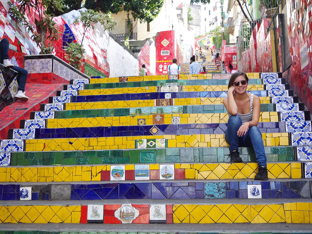 Santa Teresa Treppe Rio de Janeiro