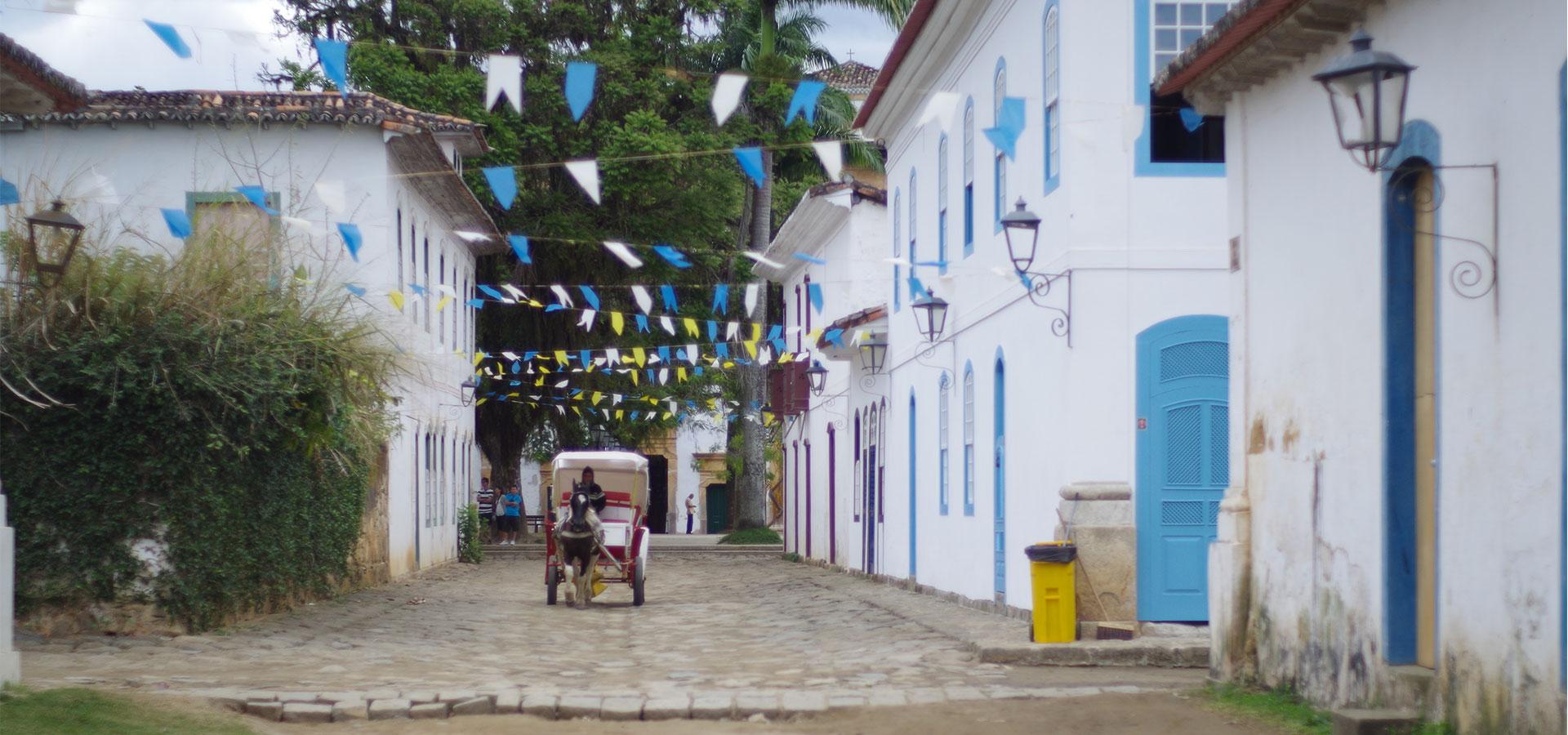 Kolonialstadt Paraty Gasse Südamerika