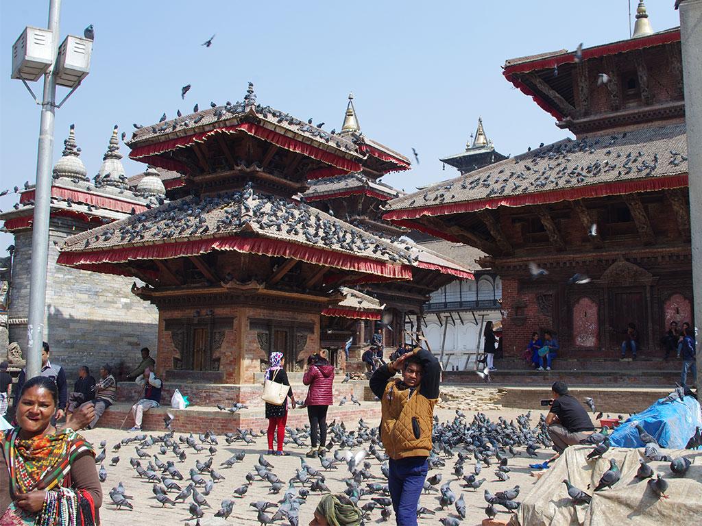 Kathmandu Nepal Tempel