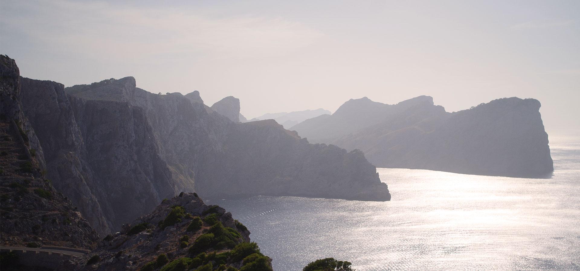 Sonnenuntergang Küste Mallorca Cap Formentor