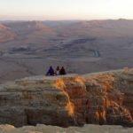 Mitzpe-Ramon Krater Sonnenuntergang Israel Reiseroute