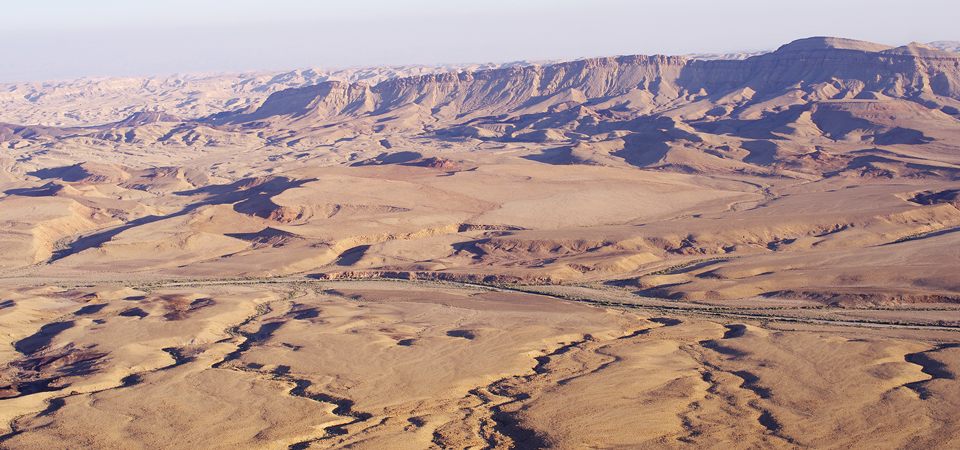 Wüste Negev Israel Roadtrip Landschaft